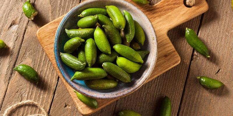 Finger Lime ricette