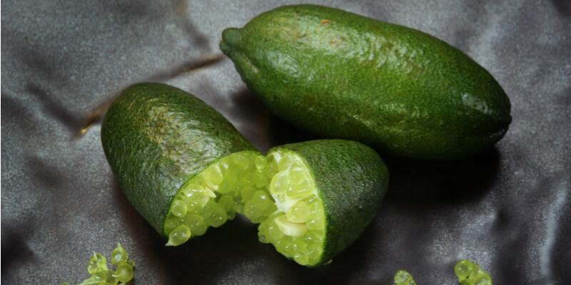 finger lime emerald